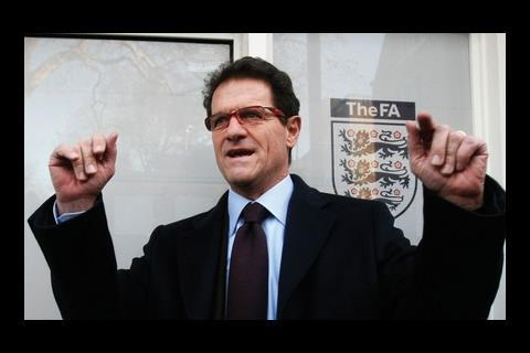 McElhinney takes naturally to the role of shrewd Italian …but ultimately, it's more that Capello looks like an Irish brickie.